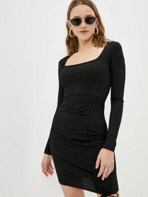 Черное платье-футляр Missguided