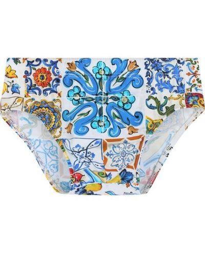 Плавки с принтом Dolce & Gabbana