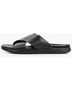 Черные кожаные сандалии Thomas Munz