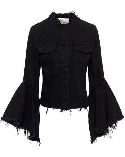 Czarne jeansy bawełniane Marques Almeida