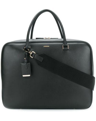 Дорожная сумка кожаный с ручками Jil Sander