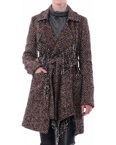 Пальто осеннее из альпаки Patrizia Pepe