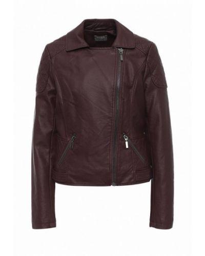 Кожаная куртка - красная Oasis