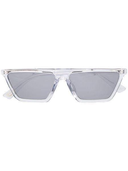 Муслиновые солнцезащитные очки квадратные хаки Diesel