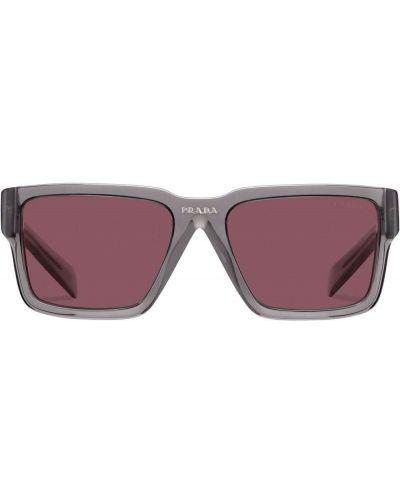 Okulary - fioletowe Prada Eyewear