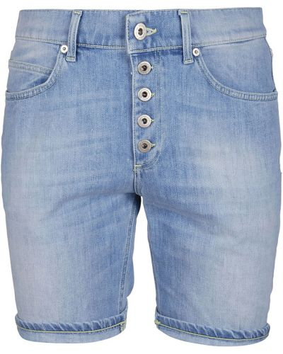 Niebieskie bermudy jeansowe Dondup