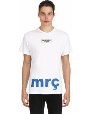 Biały t-shirt bawełniany Mr.completely