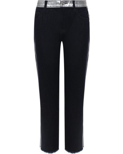 Укороченные джинсы синие Current/elliott