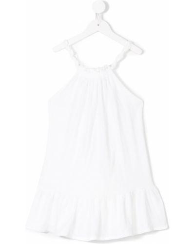 Платье белое расклешенное Belle Chiara