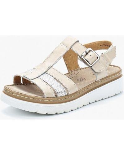 Бежевые сандалии Zenden Comfort