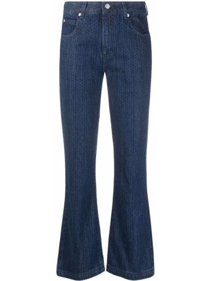 Синие джинсы классические Red Valentino