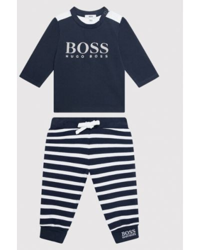 Koszula - granatowa Boss