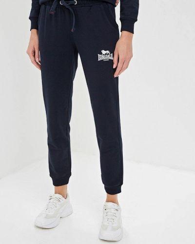 Спортивные брюки синие Lonsdale