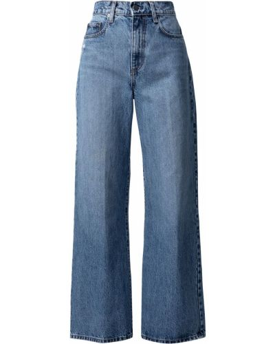 Синие джинсовые джинсы с завышенной талией Nobody Denim