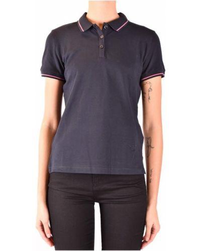 T-shirt krótki rękaw - niebieska Emporio Armani