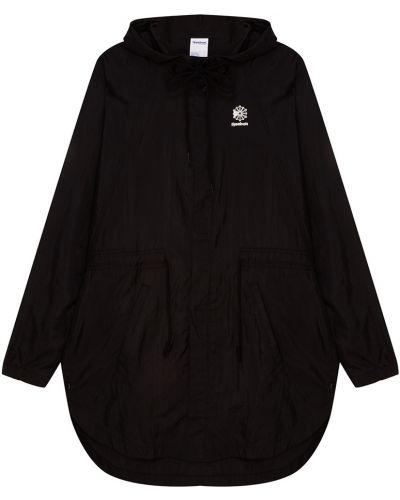 Куртка с капюшоном черная спортивная Reebok