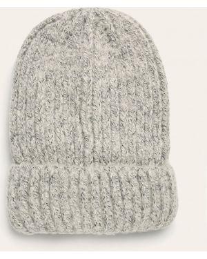 Акриловая серая шапка бини Tally Weijl