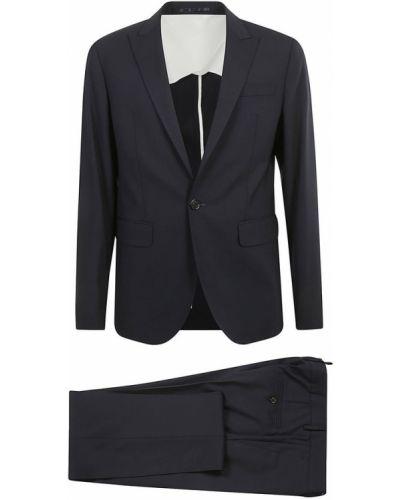 Niebieski garnitur Dsquared2