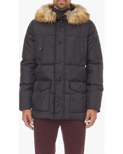 Утепленная куртка - черная Burton Menswear London