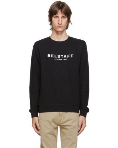 Biały bluza z długimi rękawami z mankietami z kołnierzem Belstaff