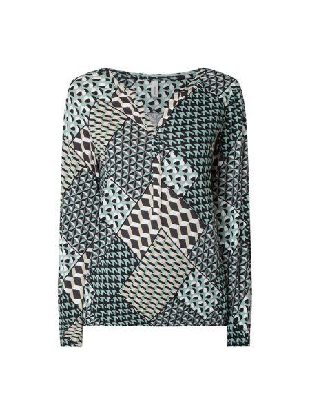 Bluzka z wiskozy turkusowa Soyaconcept