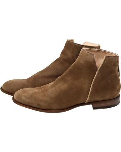 Brązowe ankle boots Lemargo
