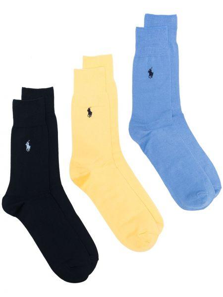 Bawełna bawełna niebieski koszulka polo Polo Ralph Lauren
