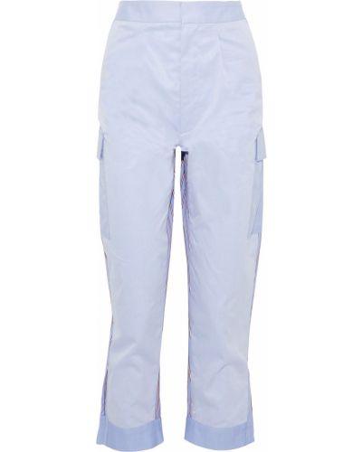 Синие хлопковые брюки Tome