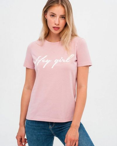 Розовая футбольная футболка Gee!