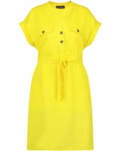 Желтое платье Taifun