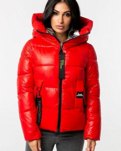 Красная теплая зимняя куртка Whitefox