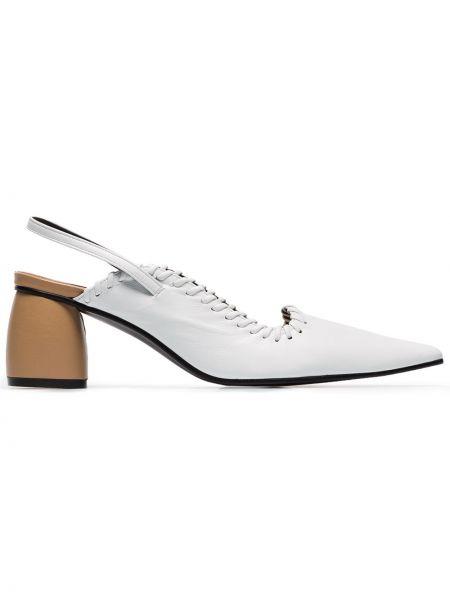 Туфли-лодочки с открытой пяткой с ремешком Reike Nen