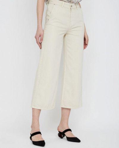 Прямые джинсы бежевый 2019 Lime