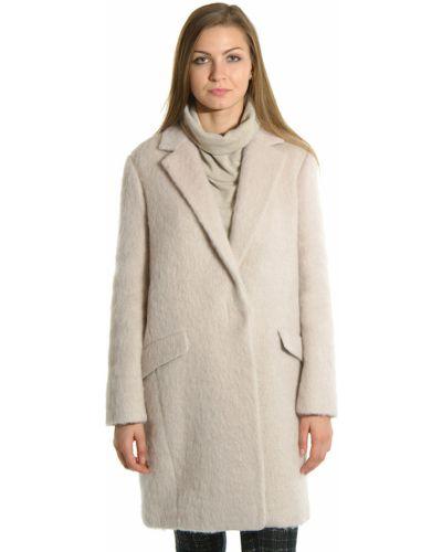 Пальто из альпаки - бежевое Patrizia Pepe