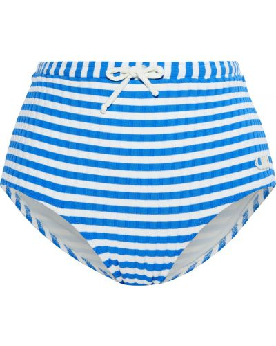 Бикини - синий Solid & Striped