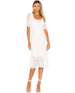 Платье миди на молнии с кружевными рукавами Bb Dakota