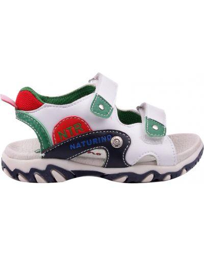 Белые сандалии Naturino