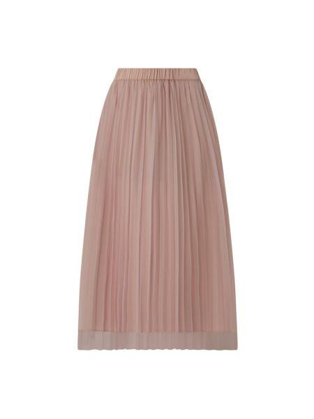 Różowa spódnica midi tiulowa rozkloszowana Jake*s Collection