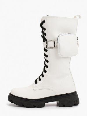 Белые ботинки из полиуретана Marquiiz