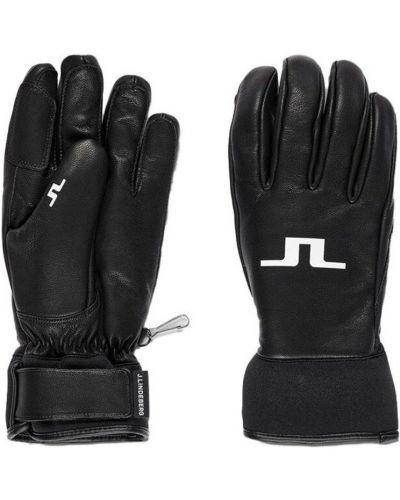 Rękawiczki - czarne J.lindeberg