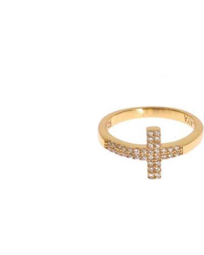 Żółty pierścionek Nialaya