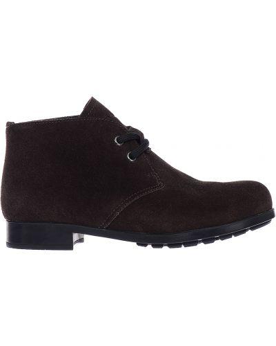 Ботинки замшевые Prada
