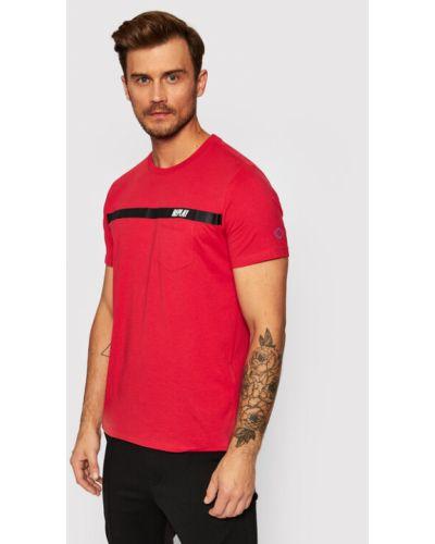 Czerwona t-shirt Replay