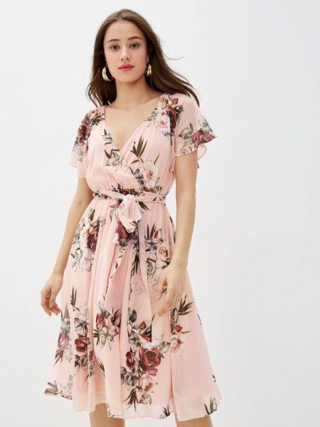 Платье прямое розовое City Goddess