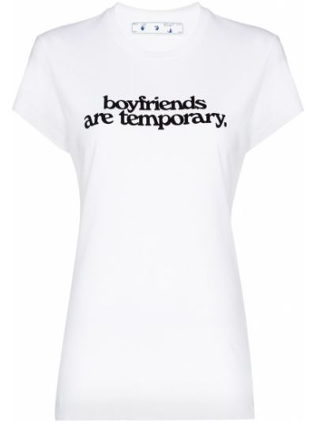 Bawełna bawełna czarny koszula Off-white