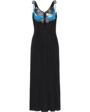 Sukienka midi czarny Christopher Kane
