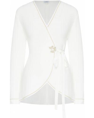 Пижама с вышивкой белая La Perla