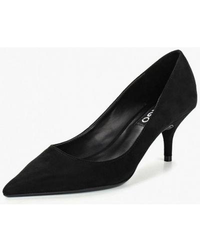 Туфли-лодочки на каблуке замшевые Mango