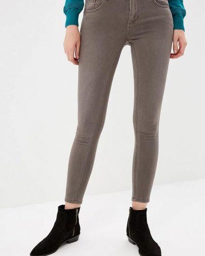 Коричневые джинсы-скинни Miss Bon Bon