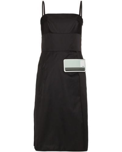 Платье на бретелях Prada